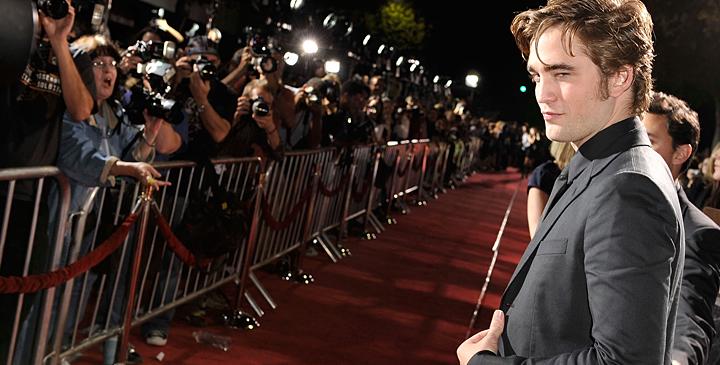 Robert Pattinson, Twilight Red Carpet