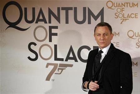 Quantum Of Solace Premiere