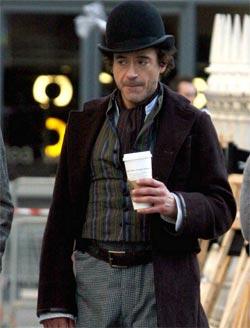 Robert Downey Jr Punch Gone Wrong On Sherlock Holmes Set ...