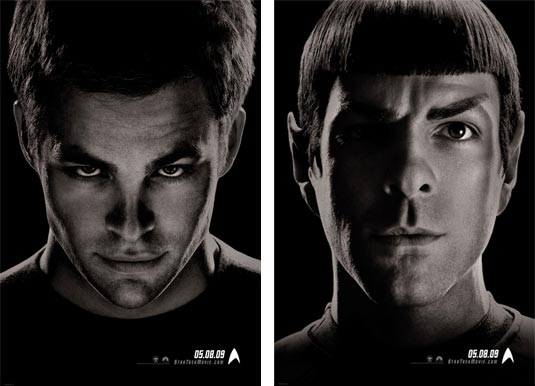 Two New Star Trek Posters: Kirk and Spock