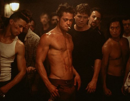 You are here: Home » Movie News » Brad Pitt In Fight Club