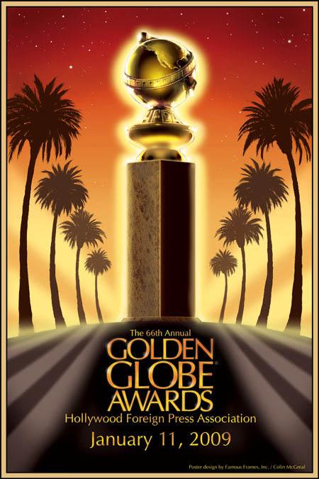 Golden Globes 2009 Poster