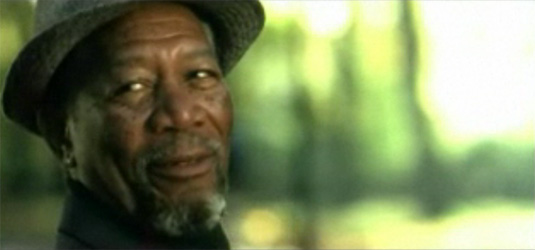 Morgan Freeman in The Code