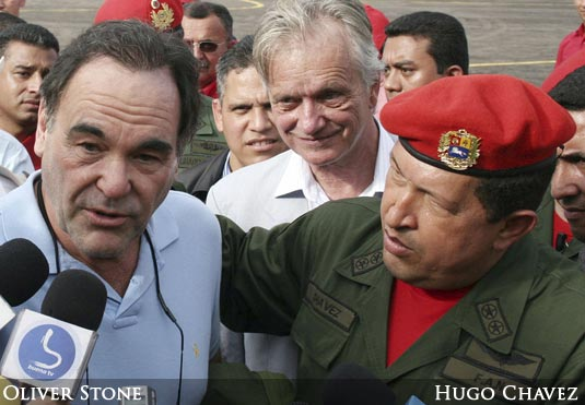 Oliver Stone and Hugo Chavez