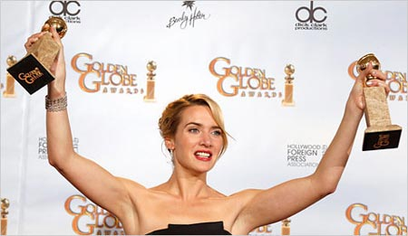 Kate Winslet - 66th Annual Golden Globe Awards