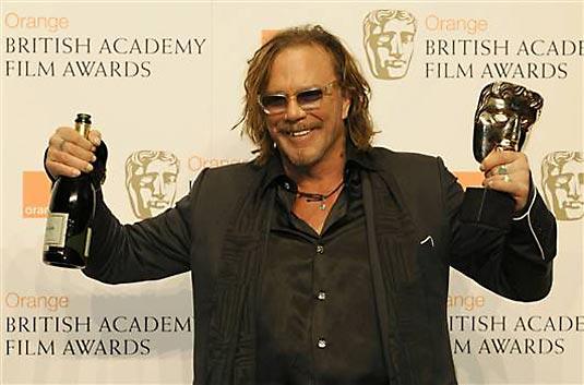 Mickey Rourke - BAFTA 2009