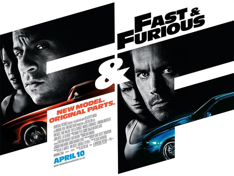 Fast & Furious UK poster