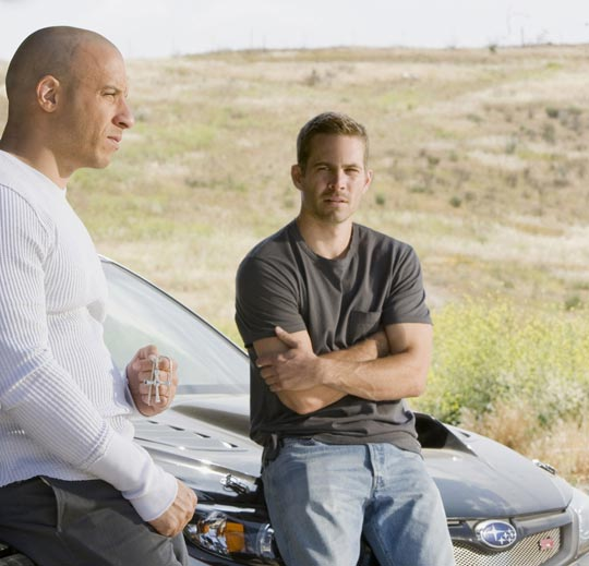 Fast and Furious | Vin Diesel and Paul Walker