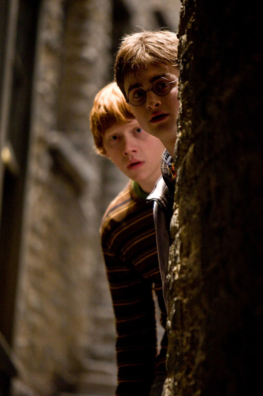 Harry Potter and the Half-Blood Prince -  Rupert Grint and  Daniel Radcliffe