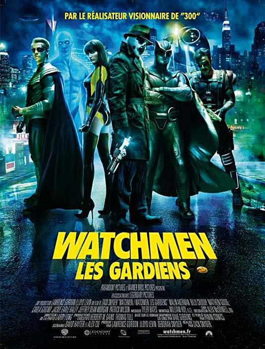 Watchmen international poster