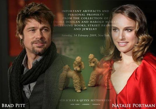 Brad Pitt & Natalie Portman