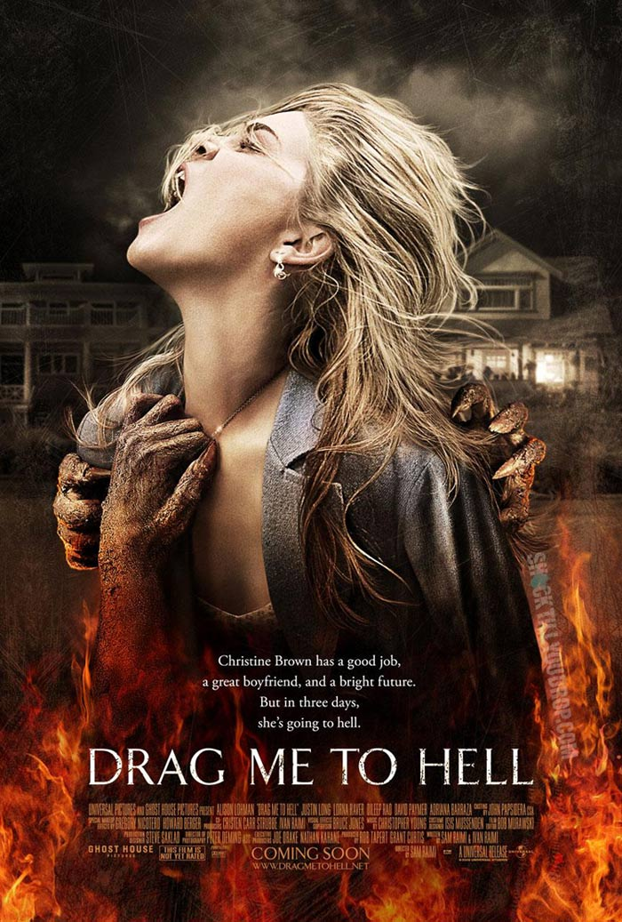 Drag Me to Hell Poster - Alison Lohman