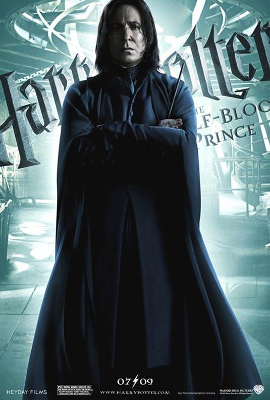 Harry Potter 6 - Severus Snape (Alan Rickman)