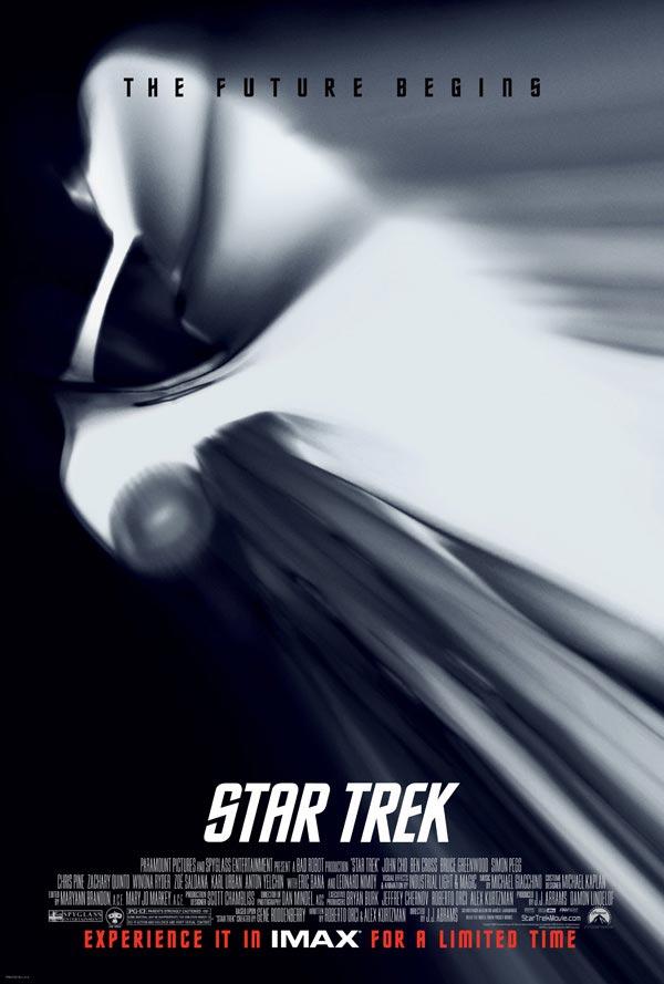 Star Trek IMAX movie poster