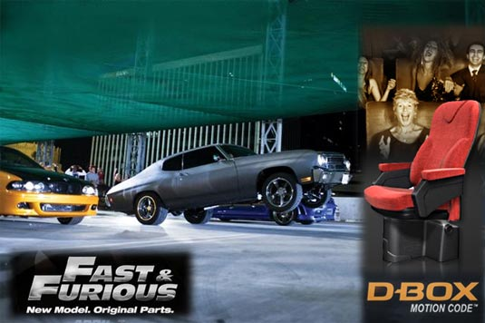 Fast & Furious D-Box