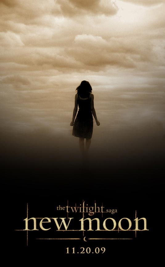 Kristen Stewart as Bella Swan - New Moon poster
