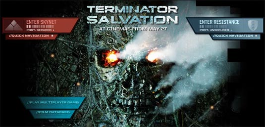 Twitter Game for 'Terminator Salvation'