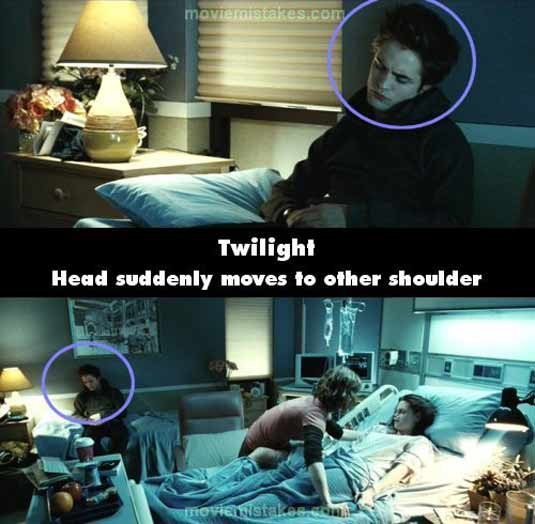 "Twilight "" fans missed some mistakes in the movie for sure, but ..."