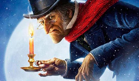 "... Christmas Carol "" starring Jim Carrey , has appeared online"