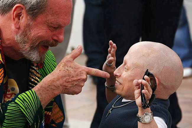 Terry Gilliam At Cannes Film Festival