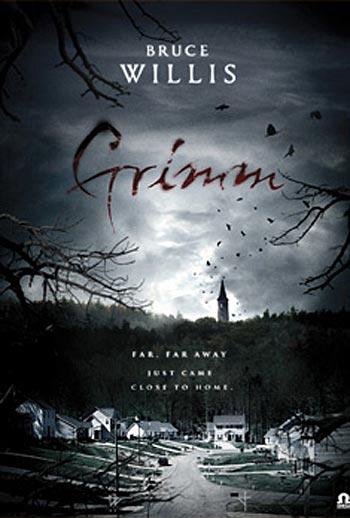 """Bruce Willis' Horror Film """"Grimm"""" Poster and Plot - FilmoFilia Bruce Willis Tower"""