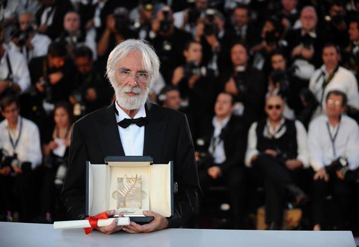 Michael Haneke Won Palme d'Or At Cannes Film Festival
