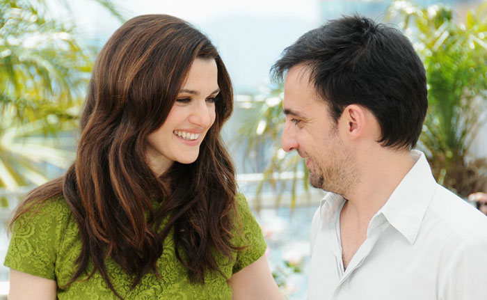 Rachel Weisz and Alejandro Amenabar at the Cannes Film Festival