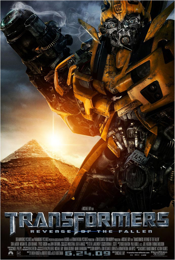 TRANSFORMERS 2 New Character Posters, Full Plot Details