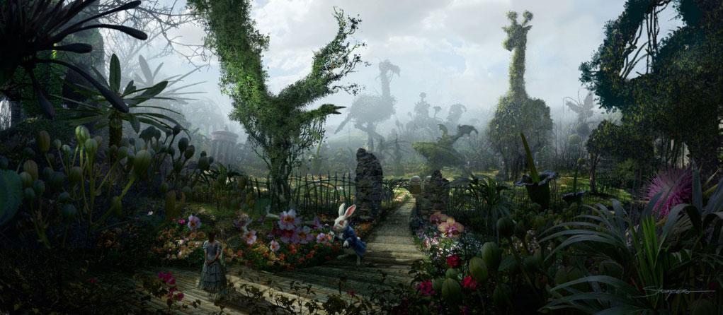 New Tim Burtons Alice In Wonderland Images