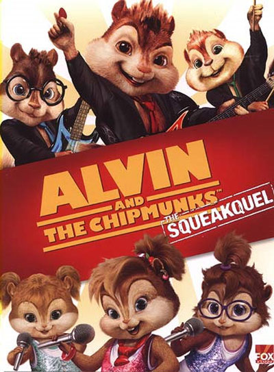 Alvin and the Chipmunks: The Squeakuel Poster
