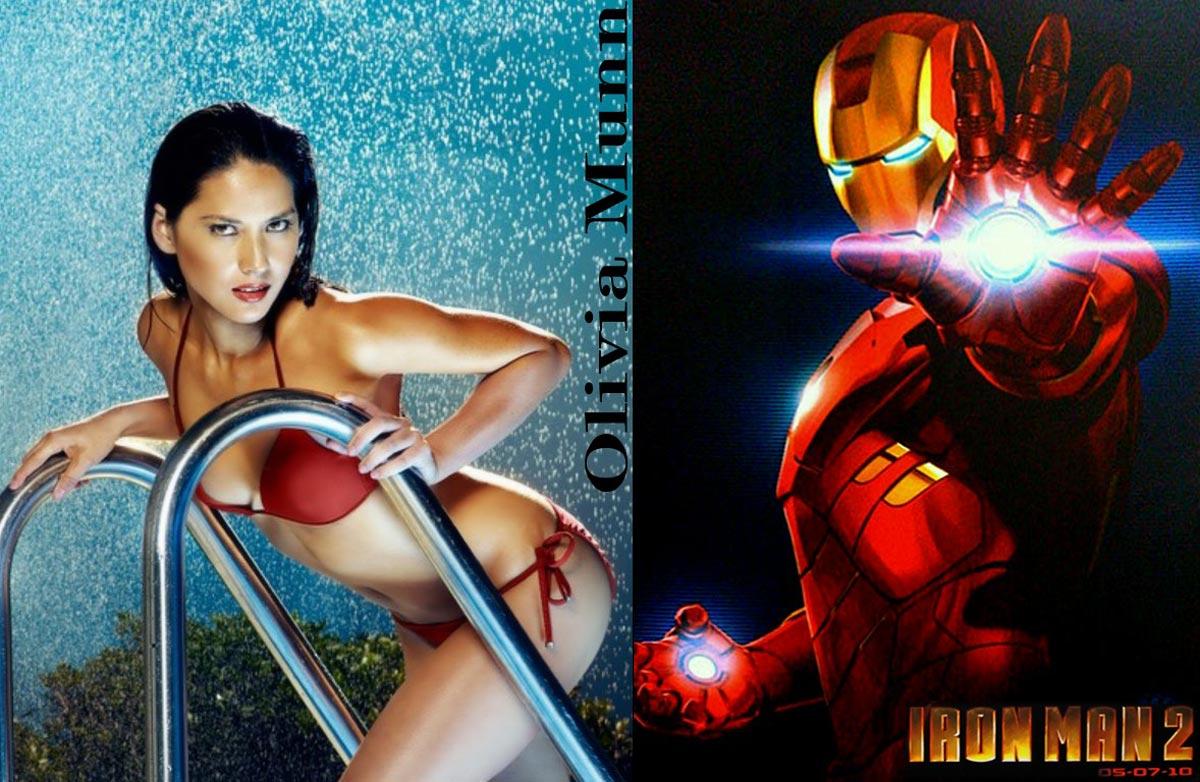 Olivia Munn Joins Iron Man 2 Cast