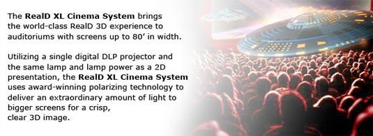 RealD XL Cinema System