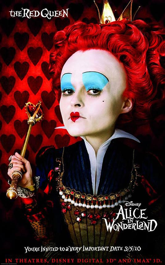"""Alice in Wonderland"" will hit theaters March 5th, 2010, and co-stars Johnny"