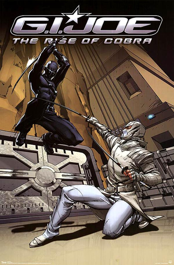 G.I. Joe: Rise of Cobra | Snake Eye and Storm Shadow