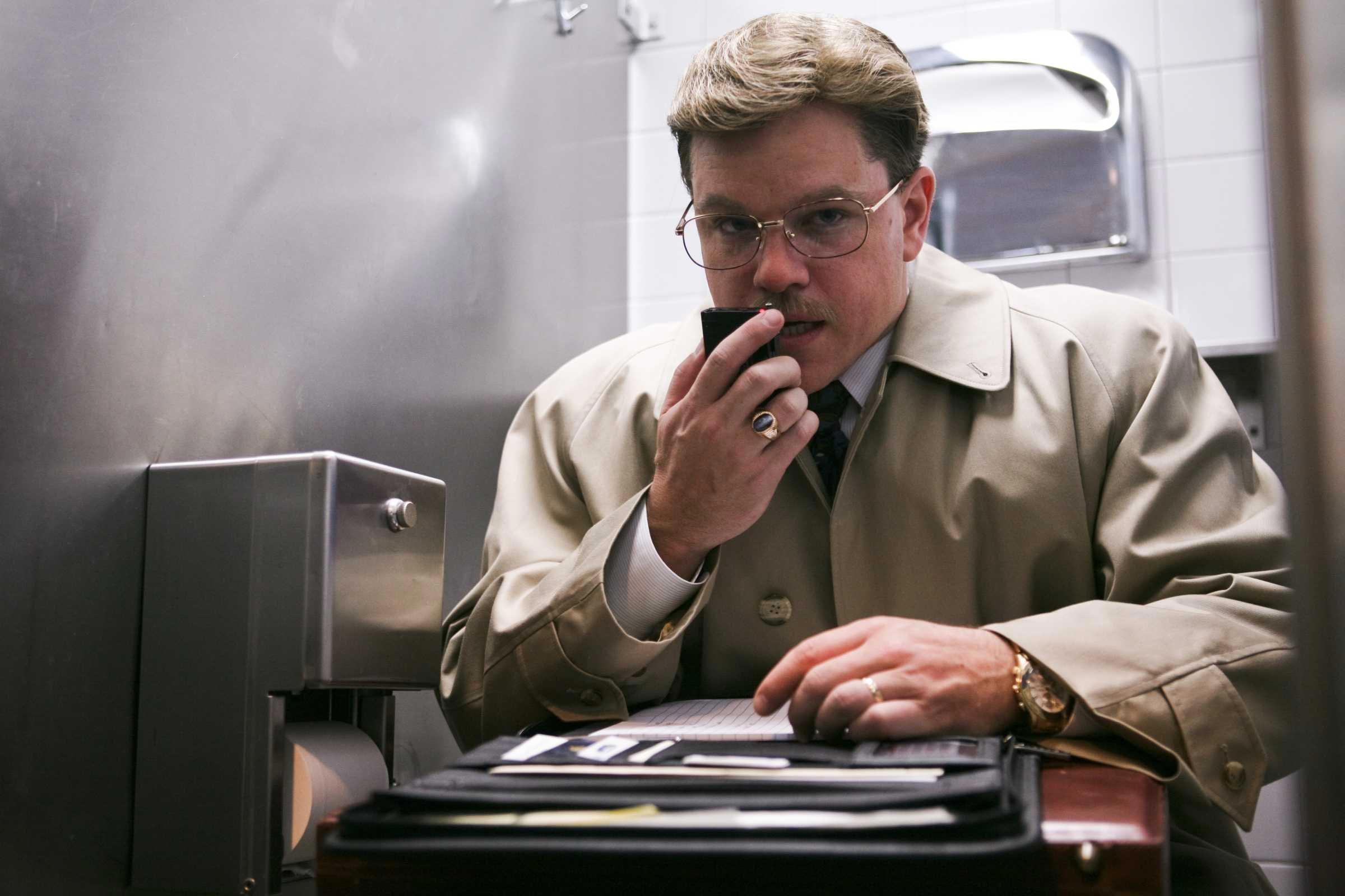 Image result for matt damon the informant