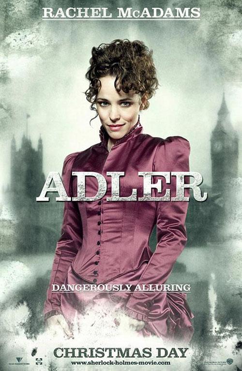 Sherlock Holmes: Rachel McAdams As Irene Adler Poster