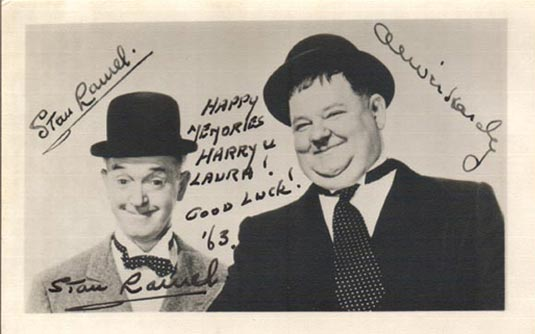 Stan Laurel and Oliver Hardy Photo