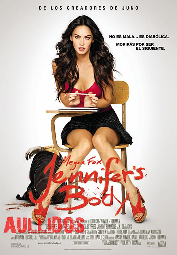Jennifer's Body Spanish poster