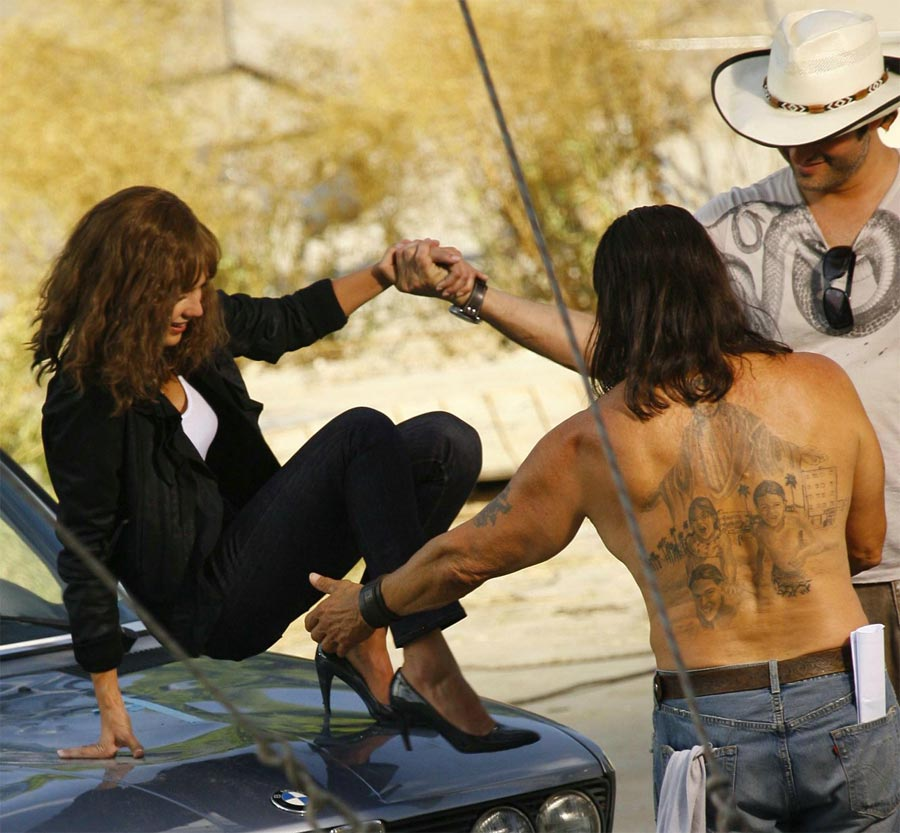 nelly tattoos_15. jessica alba machete movie.