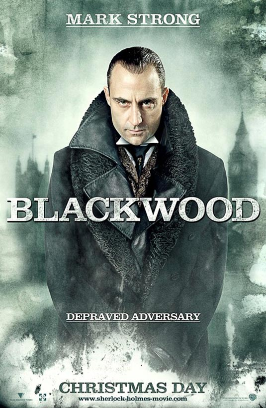 Sherlock Holmes poster | Lord Blackwood (Mark Strong)