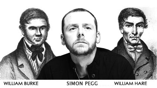 Burke and Hare, Simon Pegg