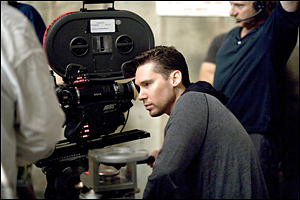 Bryan Singer on the set of Valkyrie