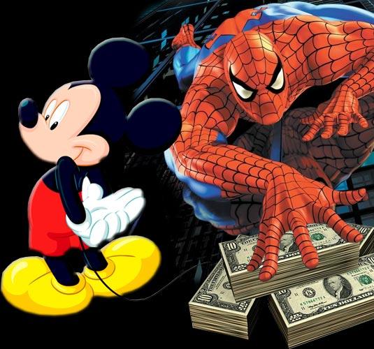 Disney To Buy Marvel For $4 Billion