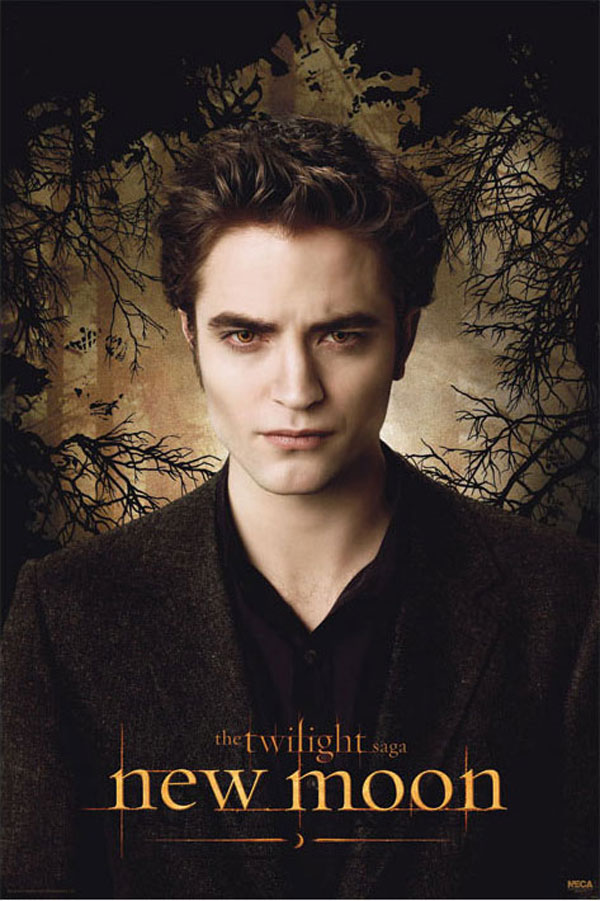New Moon Poster, Robert Pattinson (Edward Cullen)