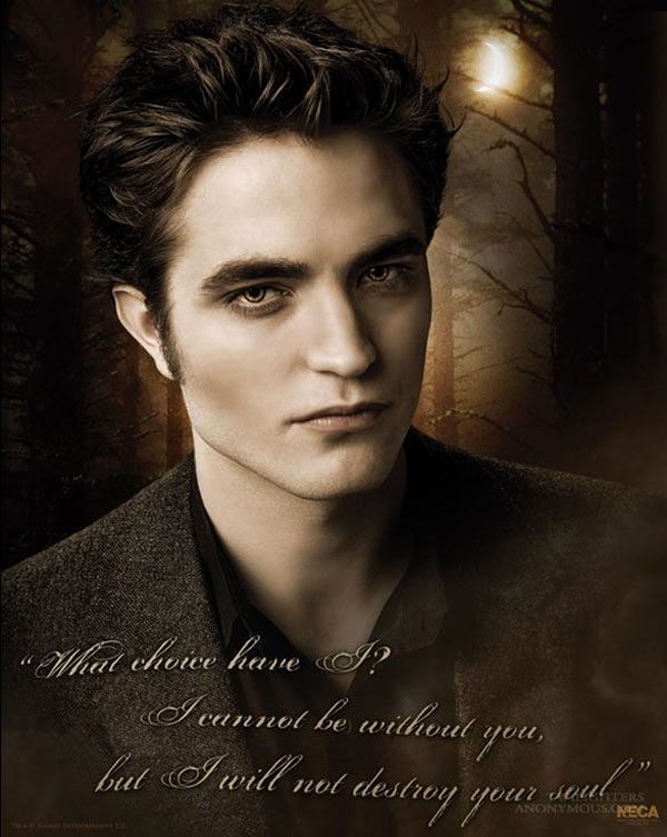 New Moon Posters Edward Cullen Bella Swan And Jacob