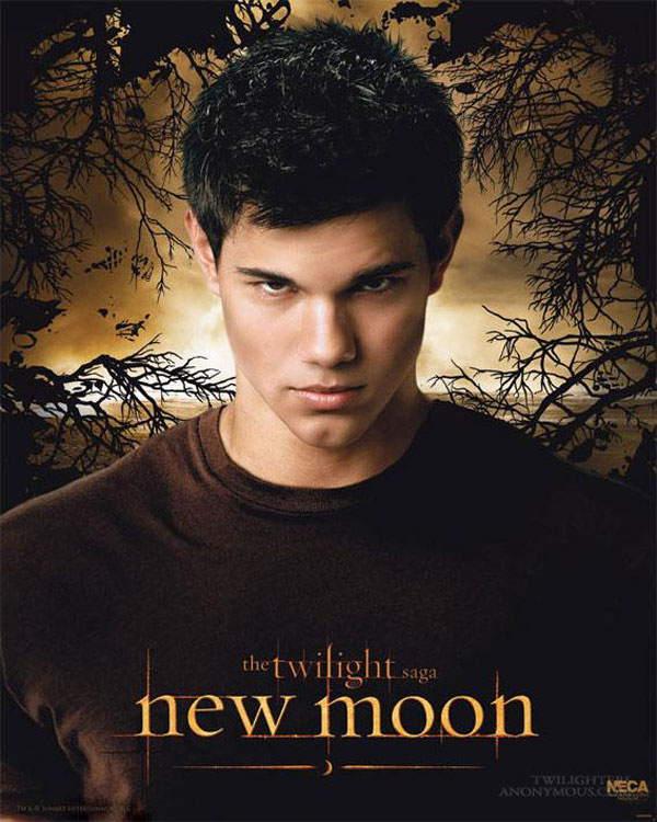 New Moon Poster, Taylor Lautner (Jacob Black)