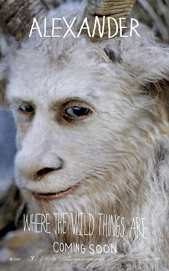 More Where The Wild Things Are Character Posters Filmofilia