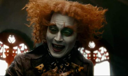 Alice in Wonderland – Johnny Depp as The Mad Hatter