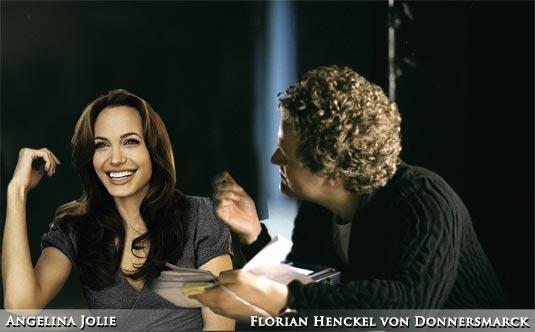 Angelina Jolie and Florian Henckel Donnersmarck