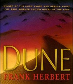 Dune - Frank Herbert - Book Cover